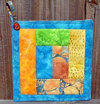 Potholder Scrappy 1