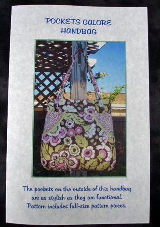 Pockets Galore Handbag Pattern Front