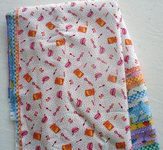 Kitchen Retro Fabric