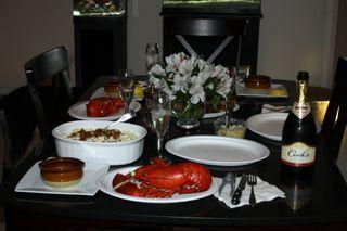 DH Birthday Dinner