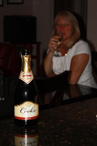 Solo Birthday Champagne