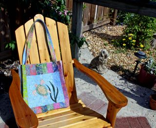 Loggerhead Turtle Tote All Chair