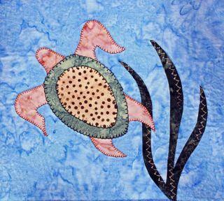 Loggerhead Turtle Applique