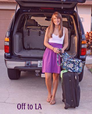 Lauren to LA