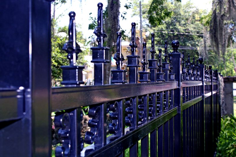 Cemetary Fence