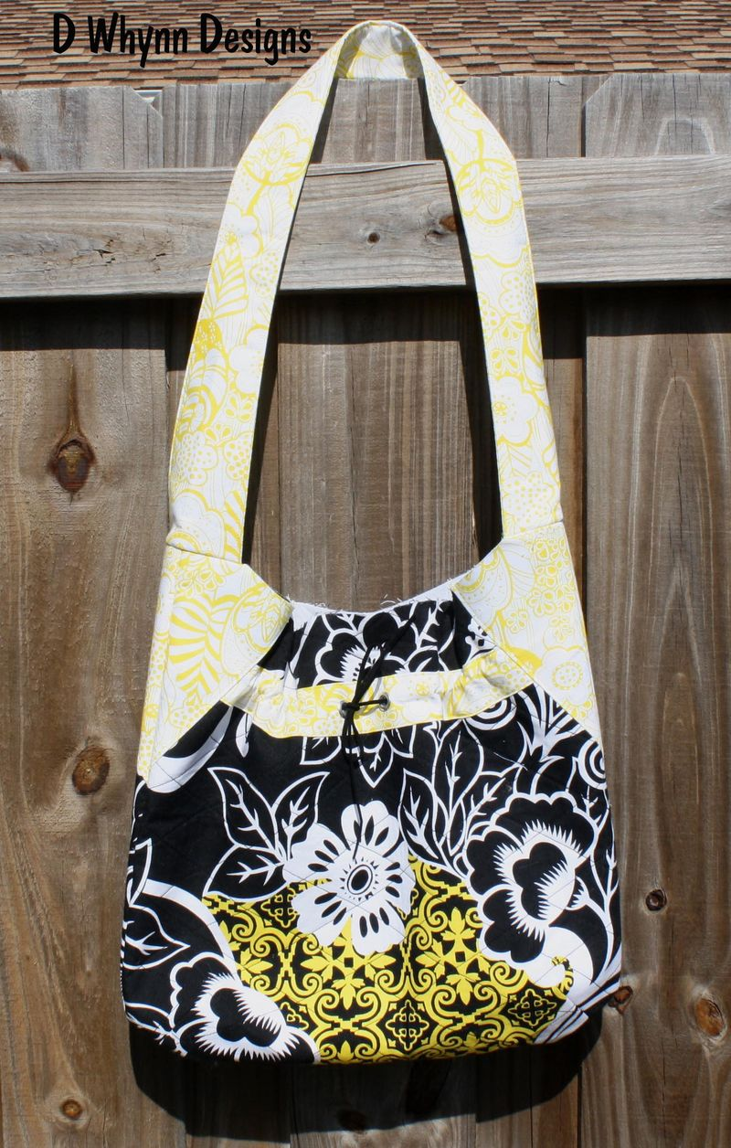 Lella Bag Black and White