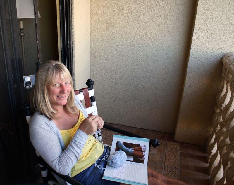 Balcony Knitting