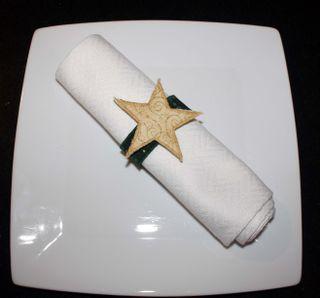Napkin Ring Star 10